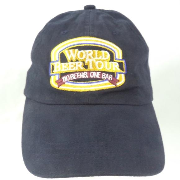 9484d6bd53f World Beer Tour 110 Beers One Bar Strapback Cap